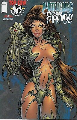 Witchblade Spring Pinup Comic No.1 / 1997 American Entertainment Exclusive Edit.