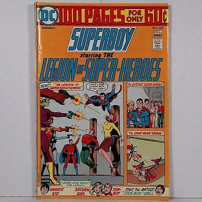 Superboy No. 205 - DC National Periodical Pub. November/December 1974 No Reserve