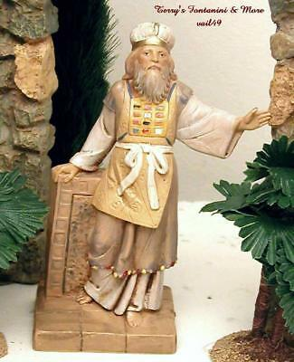 "Fontanini Depose Italy 5"" Adam High Priest Nativity Village Figure 75512 New"