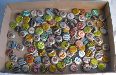 Large Lot Of Misc Advertising Cork Lined Soda & Beer Bottle Caps