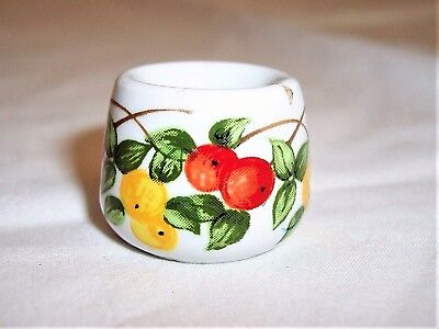 Vintage Funny Design W Germany Apple Tree Mini Candle Stick Holder Kitchen/Dine