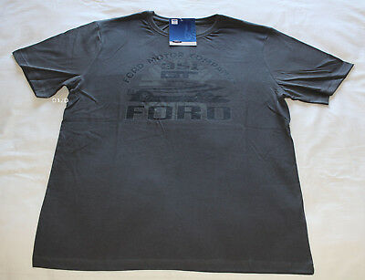 Ford Falcon XA GT Coupe Mens Charcoal Printed Short Sleeve T Shirt Size 3XL New