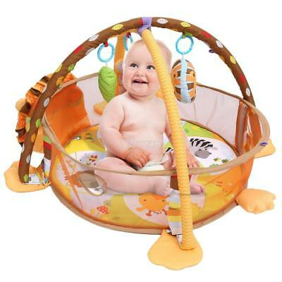 Baby Musical Play Mat Free Tummy Time Lion Soft Toy Premium PlayMat