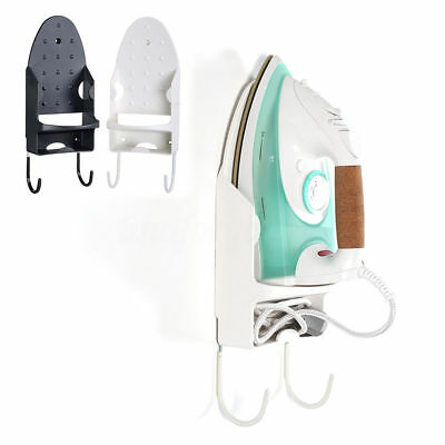 Hotel Home Laundry Iron Board Hook Holder Wall Mount Ironing Storage Board Hook