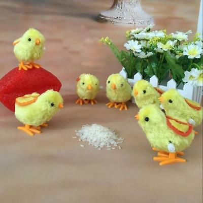 Kids Clockwork Wind Up Hopping Toy Chick Christmas Stocking Filler Animal Toys