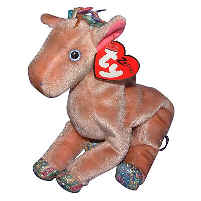 5.5 Inch Ty Beanie Baby ~ FILLY the Horse MWMT