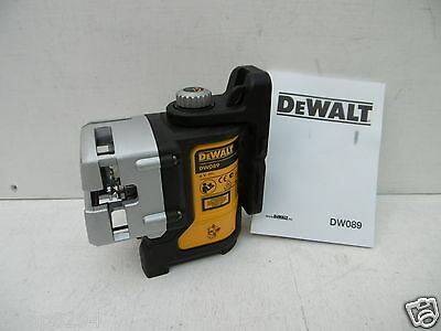 Brand New Dewalt Dw089 Self Levelling Multi Line Laser Level Bare Unit Only