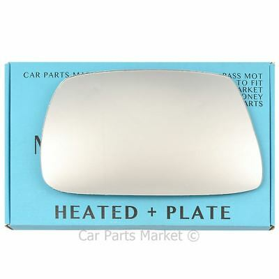 plate Right side Flat Wing door mirror glass for Jeep Grand Cherokee 2005-2009