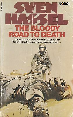 The Bloody Road to Death - Sven Hassel - Corgi - Acceptable - Paperback
