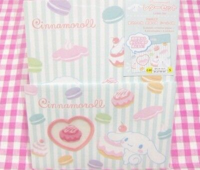 Sanrio Cinnamoroll Sweets Macaron Letter Set / Made in Japan 2017 Stationery