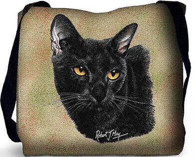 Woven Tote Bag - Bombay Cat 1959