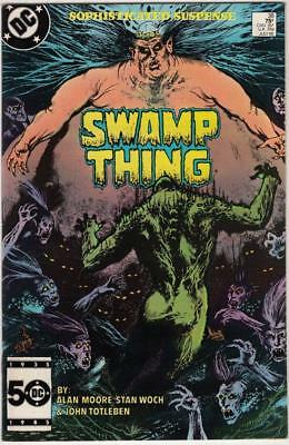 Swamp Thing, Saga Of The  # 38 strict NM-  artist Stan Woch!