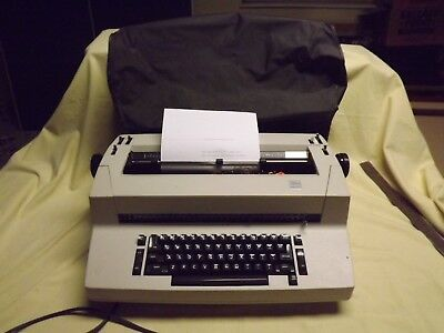 Ibm Selectric Ii 2 Electronic Typewriter With Cover