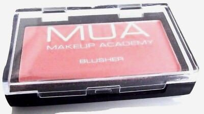 MUA Make Up Academy Blusher Shade 1 Peachy Pink 2.4g