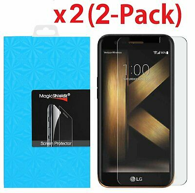 2-Pack Premium Tempered Glass Screen Protector for LG K10 (2017) / LG K20 Plus