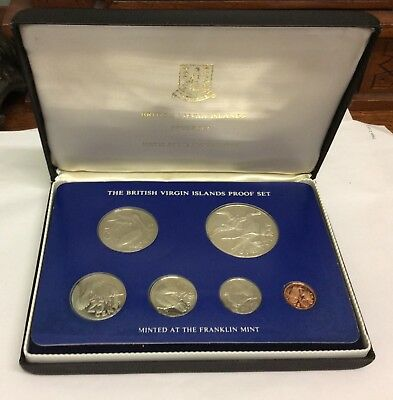 1975 Six Piece Coinage Of The British Virgin Islands Proof Set