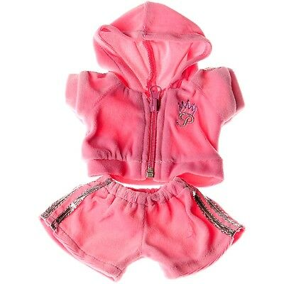 """Pink jogging outfit Teddy Bear Clothes to fit 8""""-10"""" bears"""