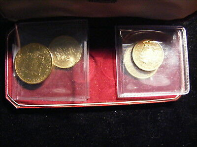 Jamaica 1969 - 2 Uncirculated and two Proof coins - In a Jersey box ????