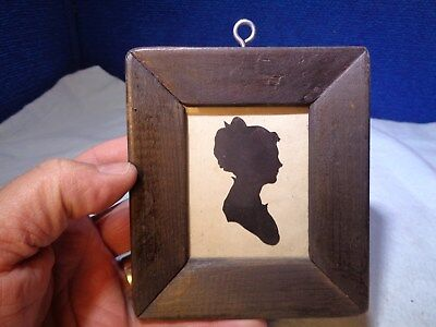 ~*~ESTATE FIND~*~  Folk Art Silhouette #1
