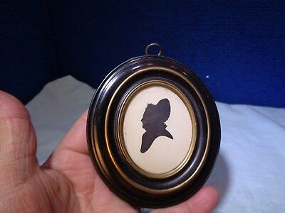~*~ESTATE FIND~*~  Folk Art Silhouette #2