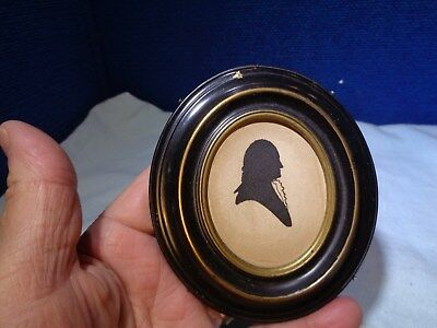 ~*~ESTATE FIND~*~  Folk Art Silhouette #5