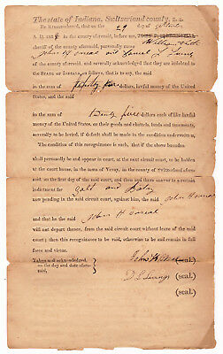 1828 Indictment for Salt and Batry, Switzerland County, Indiana