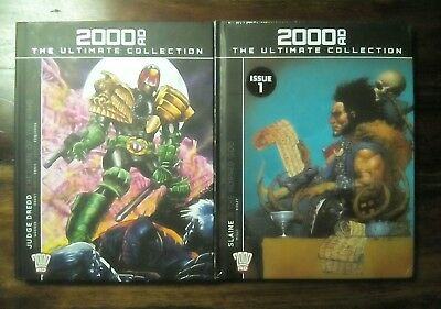 2000 AD The Ultimate Collection Slaine The Horned God/Judge Dredd Return of the