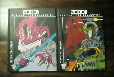 2000 AD The Ultimate Collection Nemesis The Warlock Volume 1 & 2  (Free P&P) VGC