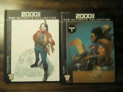 2000 AD The Ultimate Collection Nikolai Dante Vol 1 and Slaine The Horned God