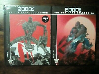 2000 AD The Ultimate Collection Shakara The Avenger/Kingdom Volume 1 (Free P&P)