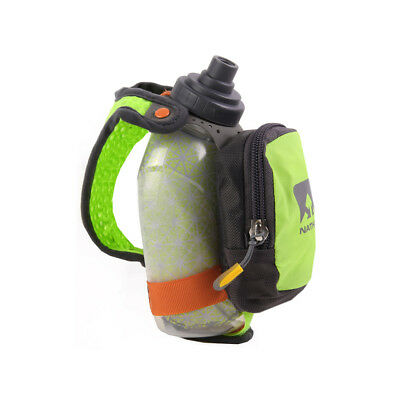 Nathan Quick Shot Plus Insulated Lime Punch Trinkflasche + Tasche Running