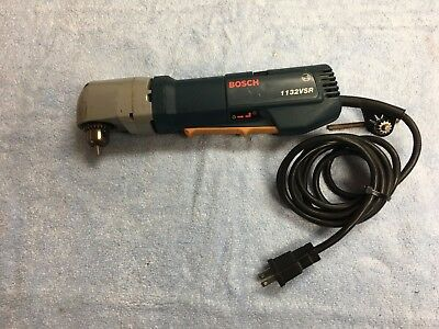 """Bosch 1132VSR 3/8"""" Low Profile Right Angle Drill 1,300 RPM 3.8A Variable Speed"""