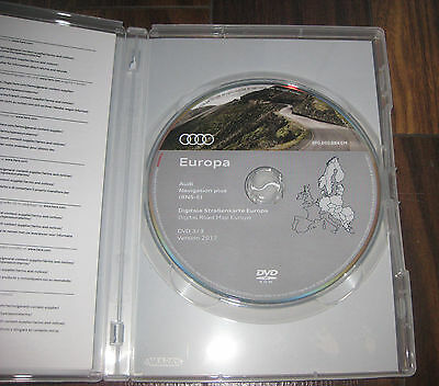 Audi Navigation plus RNS-E DVD Version 2017 Deutschland Europa rnse Original NEU