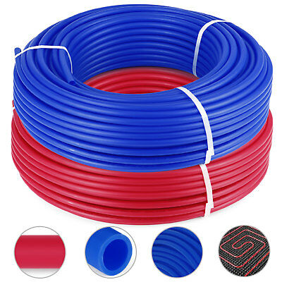 "1/2""X300ft 2 Rolls Pex Tubing Oxygen Barrier EVOH Pex-B Radiant Floor Heat HQ"