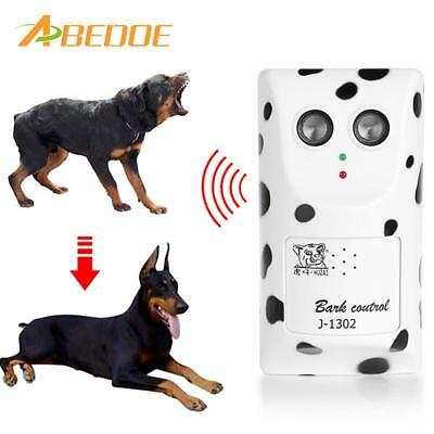 ABEDOE Humanely Ultrasonic Anti Bark Device Stop Barking Machine Control Dog Bar
