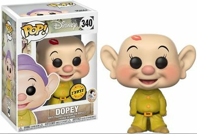 Funko Pop! Disney: Snow White and the 7 Dwarves #340 Dopey CHASE New