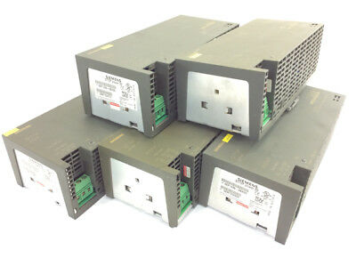 5x Siemens Sitop power 20 6EP1436-2BA00 24V DC / 20A Netzteil / Power Supply