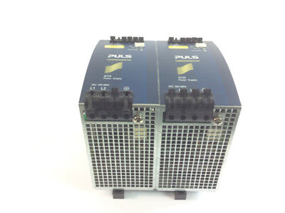 2x Puls Dimension QT20.241 Power Supply Output: DC 24-28V; 20-17.5A continuous