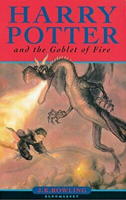 Harry Potter and the Goblet of Fire (Book 4) by J k Rowling Paperback Book The