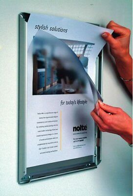 A4 Snap Frames Poster Clip Holders Displays Retail Wall Notice Boards