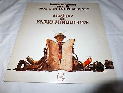 Ennio Morricone Mon Nom Est Personne Mein Name ist Nobody Terence Hill Vinyl