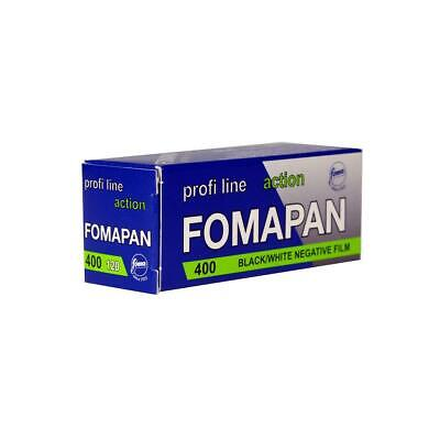 Foma Fomapan 400 Action Black and White Negative Film, 120 Roll Film, 60mm Wide