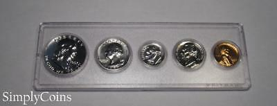 1957 Proof Set ~ GEM Uncirculated ~ 90% Silver US Coin Lot