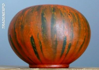 RARE Vintage 60's RUSCHA Ball Vase Vulcano by Otto Gerharz West German Fat Lava