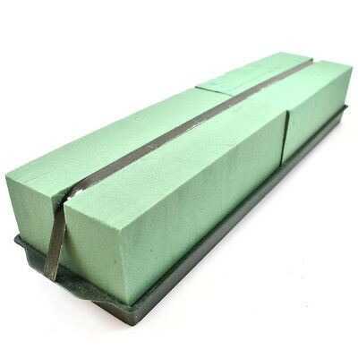 Double Floral Plastic Arrangement Tray With Green Wet Oasis Brick And Tape