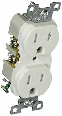 Cooper Wiring TRBR15W-BXSP Duplex Receptacle, White-Lot of 3