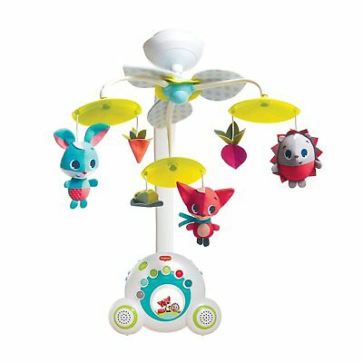 Tiny Love 2-in-1 Meadow Days Soothe 'n Groove Baby Mobile and Portable Music Box