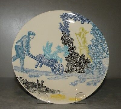 NEW Bread & Butter plate Jardinage , Delices de Jouy pattern GIEN,  France
