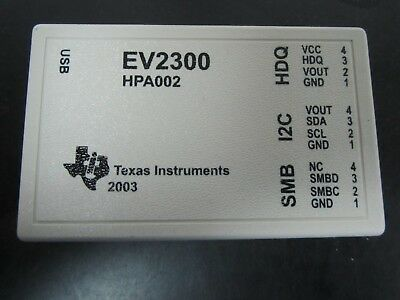 Texas Instruments EV2300 HPA002 USB Interface Battery Evaluator Tool