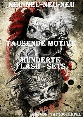 Tattoovorlagen - 191 Flash Sets - tausende Motive.....